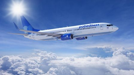 Pobeda Airlines Boeing 737-800. Picture: Eric Greer
