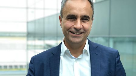 Aboudy Nasser, London Stansted's Chief Commercial Office. Picture: Stansted Airport
