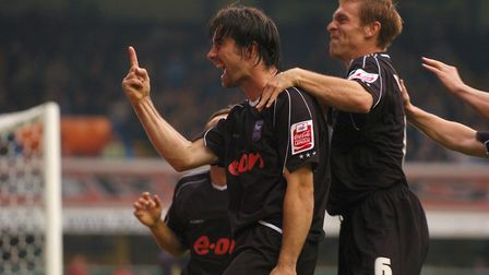 Alan Lee was scoring his first goal of the 2006-07 season as Town drew 2-2 with Birmingham in Septem