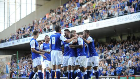On this day in 2013, David McGoldrick scored twice in Town's 2-0 win over Brighton at Portman Road
