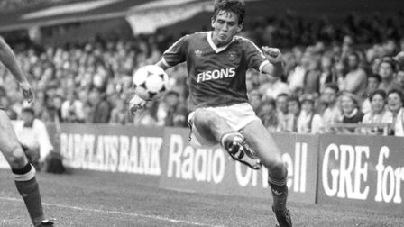 David Lowe was among the scorers as Town beat Grimsby Town 2-1 at Blundell Park on this day in 1991