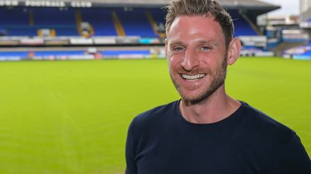 Nathan Winder is the new fitness coach at Ipswich Town. Photo: Steve Waller