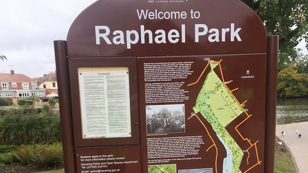 Raphael Park, in Romford, the home of the weekly Raphael parkrun. Picture: CARL MARSTON
