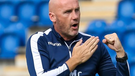 U's boss John McGreal is out to plot Yeovil's downfall. Picture: STEVE WALLER