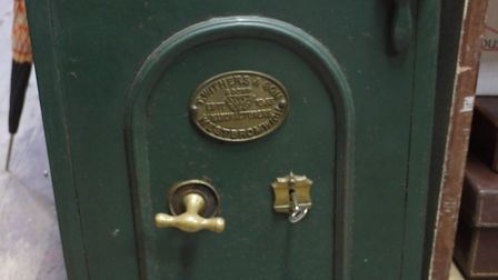 The safe was stolen from a property in Felixstowe Road Picture: SUFFOLK CONSTABULARY