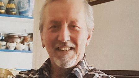 Clive Wyard, 74, died after being found seriously injured on the driveway of his home. Picture: RACH