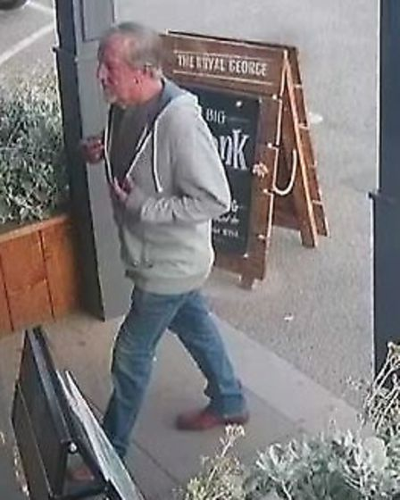 Clive Wyard on CCTV footage Picture: SUFFOLK CONSTABULARY