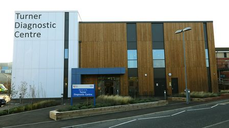 The newly built centre adjacent to the Colchester Hospital accident and emergency Picture: STEVE BRA