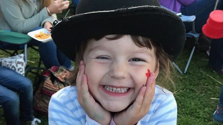 Penny Waters, who has been recognised for her bravery after beating cancer aged just four Picture: V