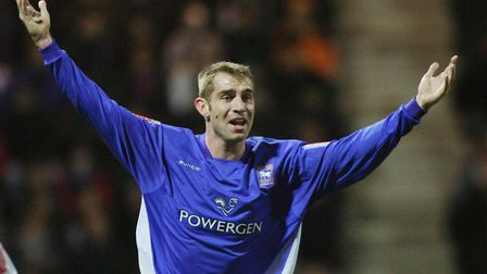 James Scowcroft returned to Ipswich for a short loan spell in 2005. Photo: Archant