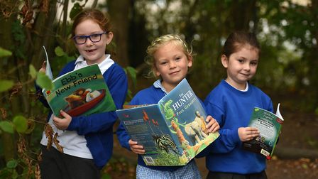 Mendlesham Primary School has already signed up for Books for Schools - has yours? Picture: SARAH L