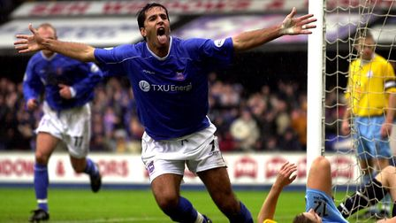 Pablo Counago scored twice on this day in 2002