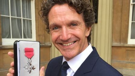 Gary Avis, the acclaimed dancer who received his MBE at Buckingham Palace Picture: TIM HOLDER