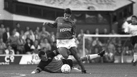 Micky Stockwell was also on the scoresheet on this day in 1990