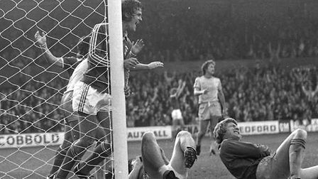 On this day in 1977, Town bea Birmingham 5-2 at Portman Road