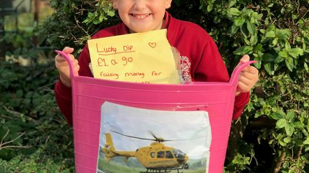 Abigail Clack turned her £10 pocket money into a £500 boost for charity Picture: ELLEN WIDDUP