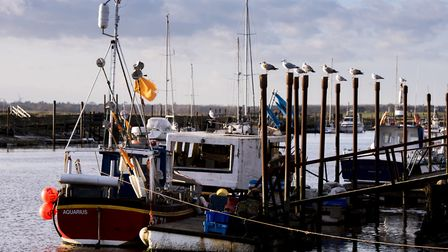 Southwold Harbour. Picture: NICK BUTCHER
