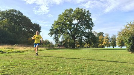 Ipswich JAFFA's Steve Langley, an over-55 veteran, who was 10th at the Ipswch parkrun on Saturday.