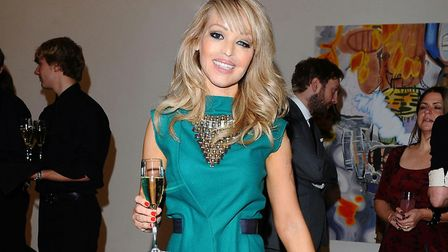 Katie Piper has undergone over 30 surgical operations after the violent attack. Picture IAN WEST/PA