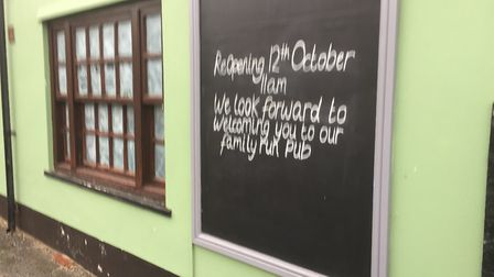 The former Cooper's Dip pub in Saxmundham is to reopen as The Railway Tavern. Picture: ANDREW PAPWOR