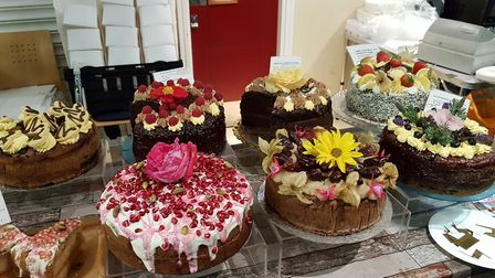 There were hundreds of different flavoured cakes to choose from. Picture: RACHEL EDGE