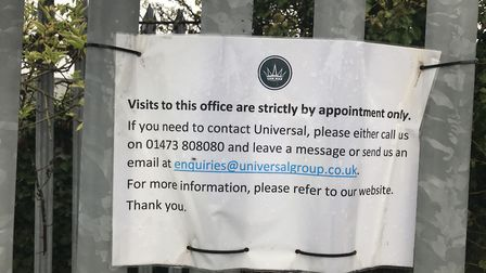 Two people connected with Universal Group have been arrested for fraud and are under police investig