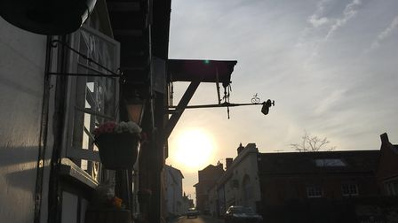 The Bell and Steelyard Pub in Woodbridge Picture: KATY SANDALLS