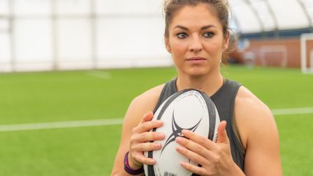 Amy Wilson-Hardy is one of the best women's rugby players on earth. Picture: PAVEL KRICKA
