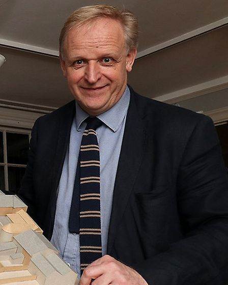 Mark Bills, director of Gainsborough's House Picture: ANDY HOWES