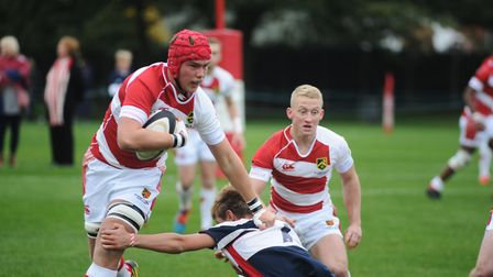The St Joseph's College Rugby Festival will be held this weekend. Picture: LUCY TAYLOR