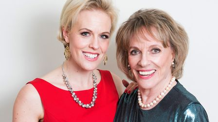 Rebecca Wilcox and her mother Dame Esther Rantzen Picture: CONTRIBUTED
