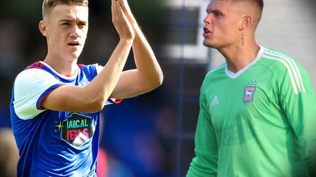 Jack Lankester and Harry Wright are coming through the ranks at Ipswich Town. Picture: ARCHANT