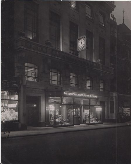 A picture showing the RNIB Portland Street office in London Picture: ROYAL NATIONAL INSTITUTE OF BLI