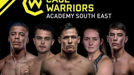 The Cage Warriors South East Academy show in Colchester this weekend boasts seven title fights. Pict