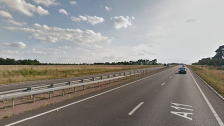 The A11 near Mildenhall Picture: GOOGLE MAPS