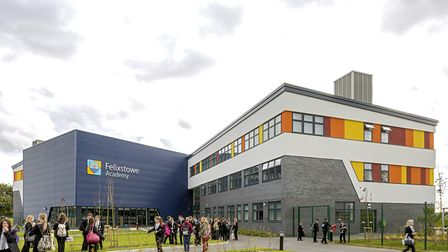 Felixstowe Academy has been scored as below average in their Progress 8 report Picture: PETER A COOK