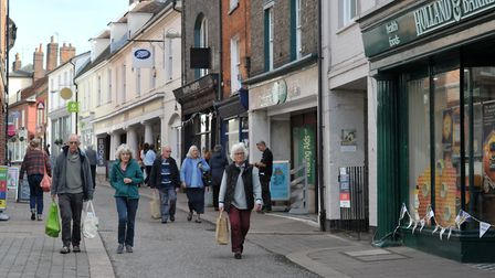 Woodbridge has a superb town centre - but needs to show more self-confidence. Picture: SARAH LUCY B