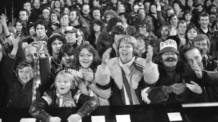 Fans enjoyed Town's 1-0 win over Innsbruck on this day in 1978