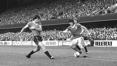 Paul Mariner scored on this day in 1980 in Town's 1-1 draw with Man United