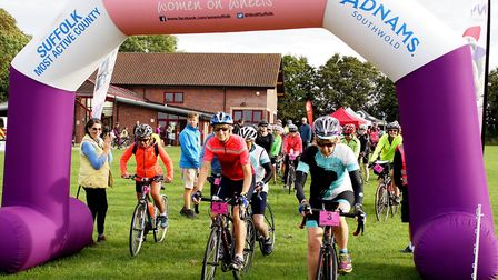The Women on Wheels event in Sudbury has been hailed a success by organisers Picture: SSL