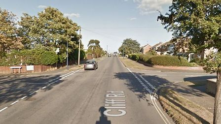 The incident happened at the junction between Cliff Road, St George's Road and Marcus Road in Felixs