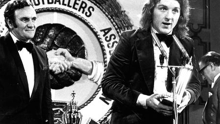 Kevin Beattie, PFA young player of the Year 1974. The only Town player ever to have won it.