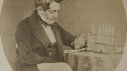 Dr Alfred Swaine Taylor, know as the father of forensic science in Victorian times. The Swaine Tayl