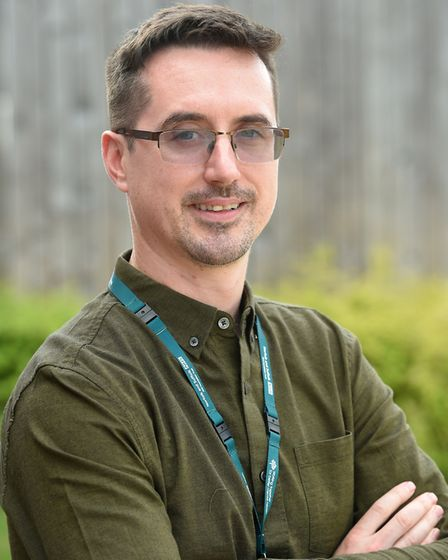 Joe Phillips who has been recruited by NSFT to work on Lark Ward as an assistant psychologist. Pict