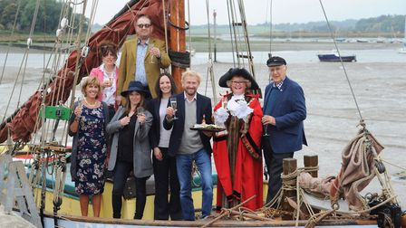 Launch of the Woodbridge Shuck Festival 2017. Picture: SARAH LUCY BROWN