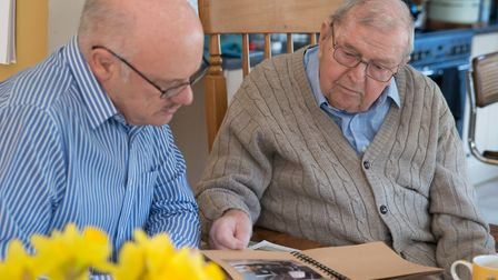 An RAF charity is aiming to tackle loneliness in Bury St Edmunds and Stowmarket Picture: HEIDI BURTO