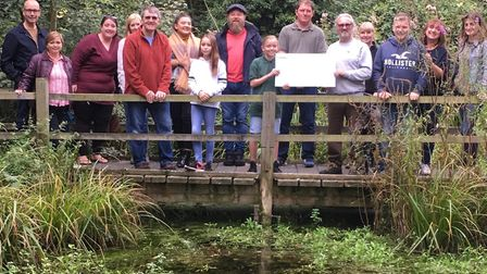 The first-ever Ballingdon Fete raised £2,000 for the Eden Rose Coppice charity Picture: BALLINGDON F