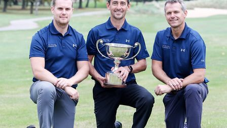 ESSEX WINNERS: From left: James Scade, Jason Levermore and Brett Taylor. Photograph: CONTRIBUTED