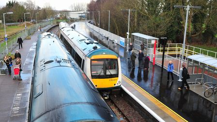 For the next two weekends East Suffolk Line trains will only run as far as Beccles. Picture: Nick B