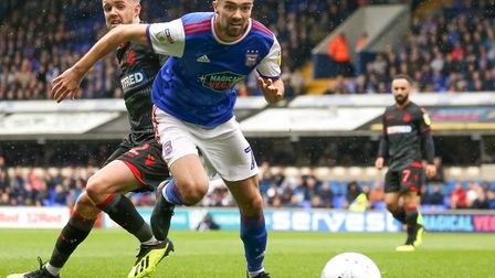 Gwion Edwards has produced some exciting displays for Ipswich since his �700k move from Peterborough